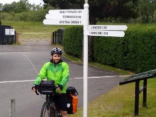 Scottish signpost