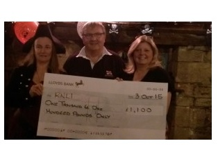 Harry Paye Day cheque