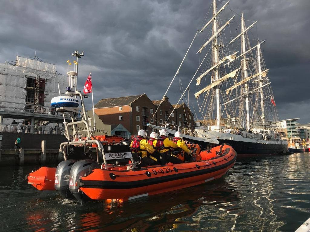 Poole Lifeboat Tasked To Medical Evacuation From Brownsea